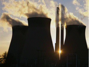 Image of a nuclear powerplant