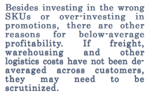 Long quote about over-investing