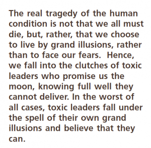 Long quote about toxic leaders