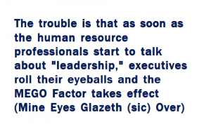 Long quote about human resources