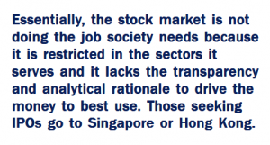 Quote about the stock market