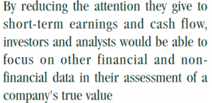 Quote on financial data