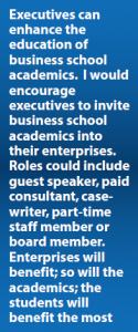 Quote on executives