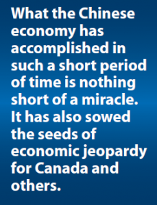 Quote on the Chinese economy
