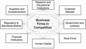 Figure 1: The Business Ecosystem