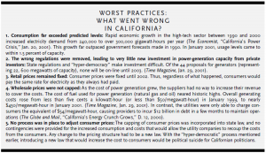 Worst practices: What went wrong in California?
