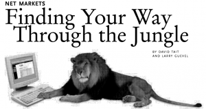 Net markets: Finding your way through the jungle