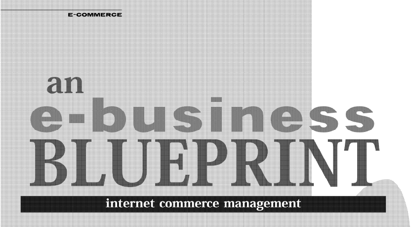 An e business blueprint strategic presence on the internet many companies are finding themselves overwhelmed by the challenges of planning and managing their business on line malvernweather Gallery