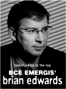 Fast-tracking to the top, BCE Emergis' Brian Edwards