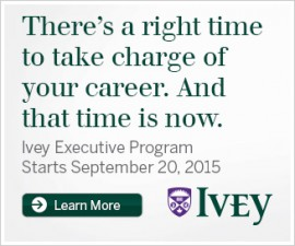 There's a right time to take charge of your career. And that time is now