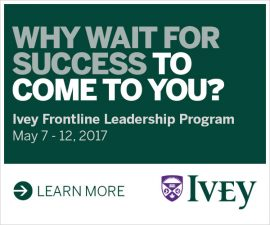 Ivey Frontline Leadership Program