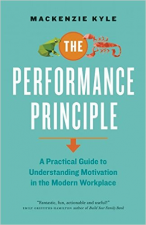 """Image of a book called """"The Performance Principle"""""""