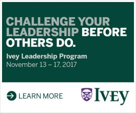 Ivey Leadership Program November 13-17, 2017
